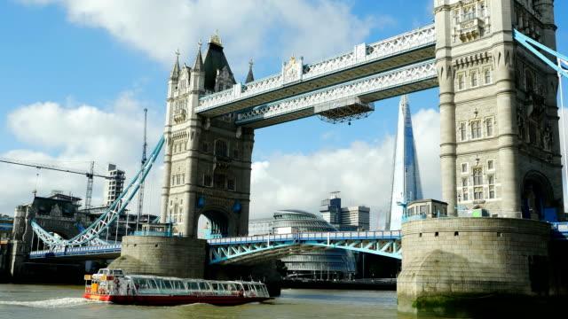 London Tower Bridge And Southwark Borough (4K/UHD to HD) video