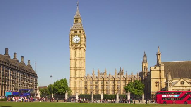 London, Traffic around Parliament video