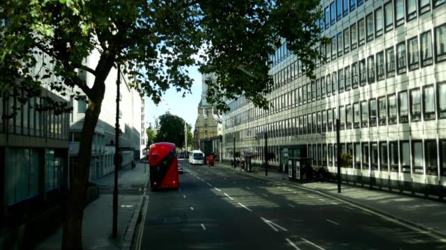 POV London Victoria Street Bus Ride (4K/UHD to HD) video