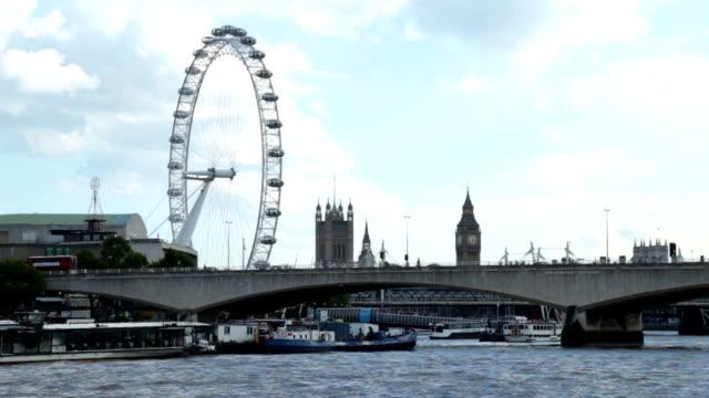 London Waterloo Bridge And House Of Parlament