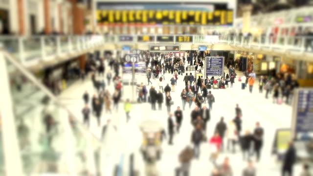 HD: London Waterloo Station video