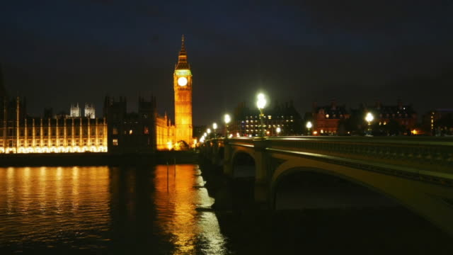 London Westminster Bridge And Big Ben Cinemagraph video