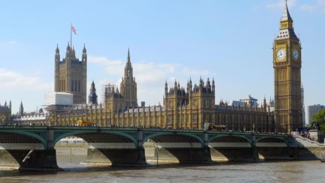 London Westminster Bridge und Big Ben Cinemagramm – Video