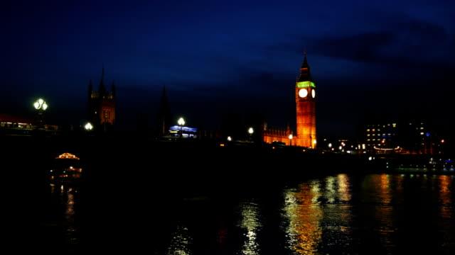 London Westminster Bridge And Big Ben video