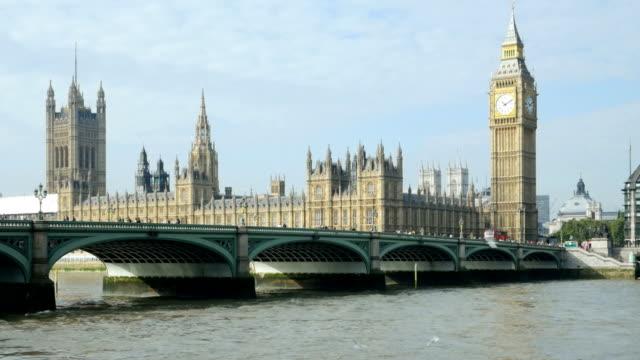 T/L London Westminster Bridge And Big Ben video