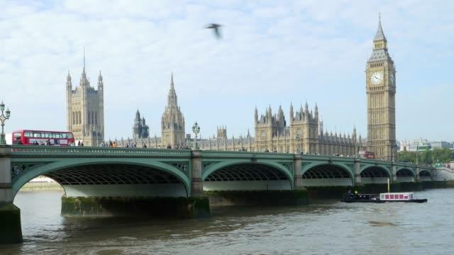London-Westminster Bridge und Houses of Parliament – Video