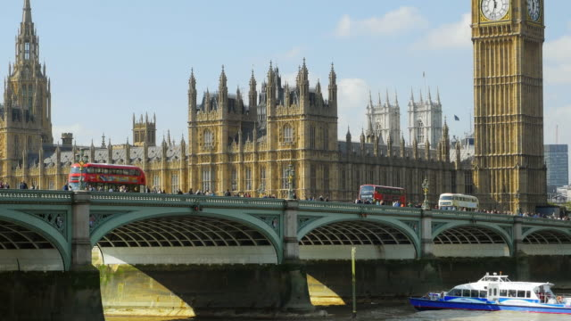 London Westminster Bridge And Parliament Cinemagraph video