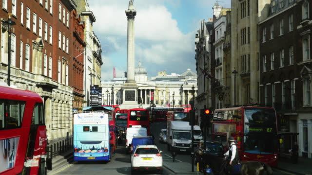 POV London Whitehall And Trafalgar Square (UHD) video