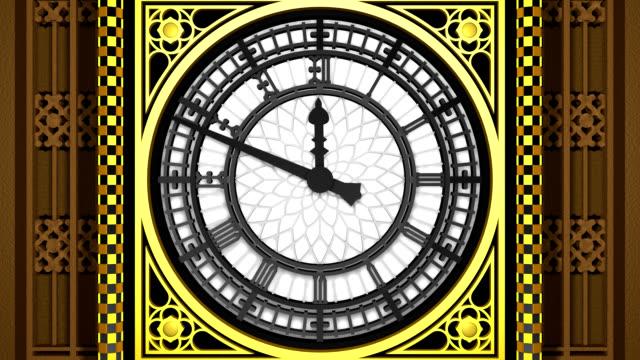 London's Big Ben (3D Model) video