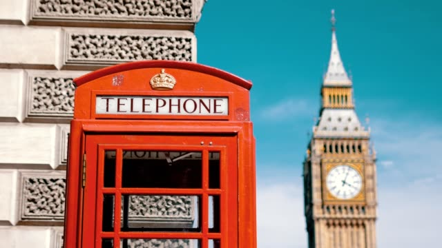 London's iconic telephone booth