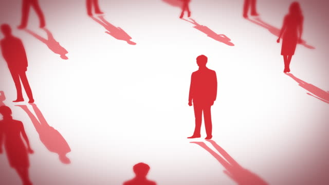lonely businessman silhouette hard worker , over work , lonely , alone , personal , concept. It is hard to live, but let's do our best without decay. morality stock videos & royalty-free footage