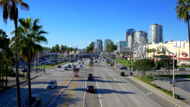 Long Beach, CA California 4K footage series western usa stock videos & royalty-free footage