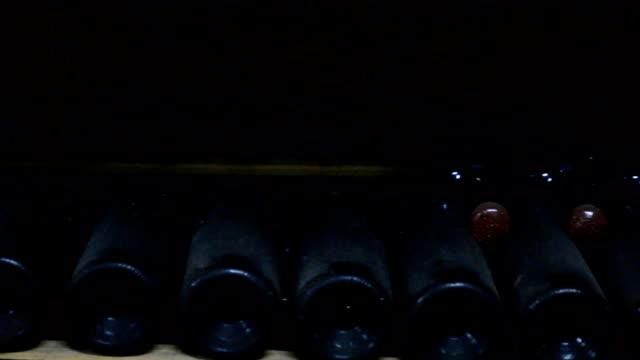 Long cellar with unique wine video