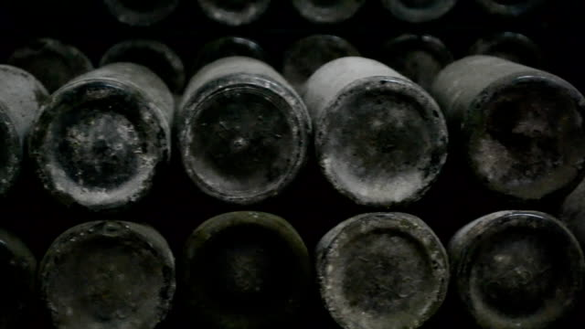 Long cellar with unique wine video