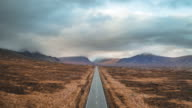 istock Long country road in the Scottish Highlands 1075396144
