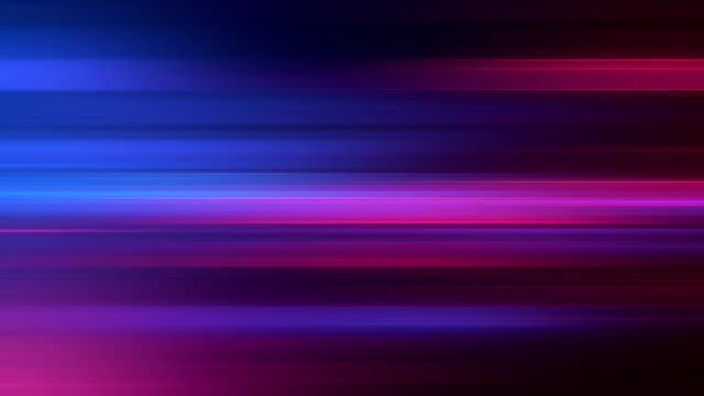 Long Exposure Background (Blue / Purple) - Loop Abstract motion background, perfectly usable for a wide range of topics. electric light stock videos & royalty-free footage