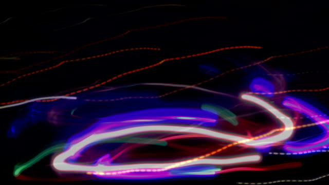 Long exposure, blurred motion, time lapse, loopable moving image