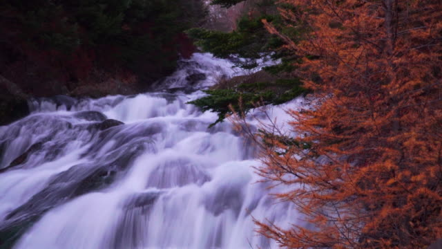 4K long exposure, Ryuzu waterfalls in Nagano, Japan.