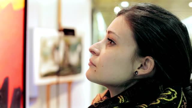 Looking at paintings galleries