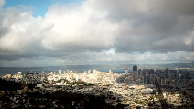 Looking Down on San Francisco Time Lapse video