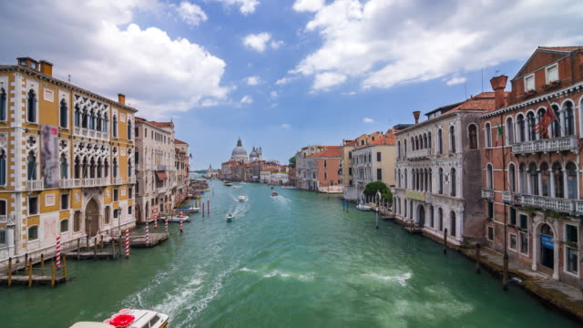 Looking out into the Venice Canal, Italy video