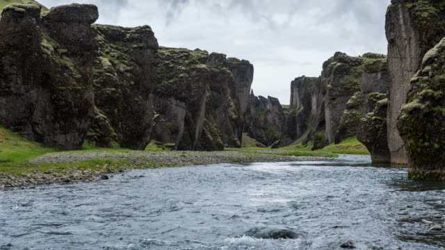 Looking upstream of a canyon video