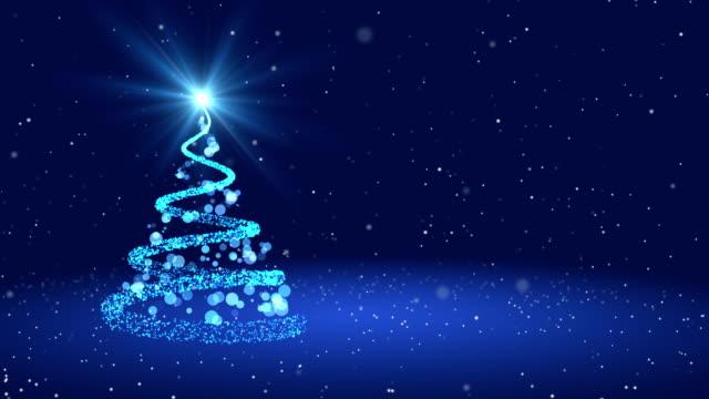 Loop 4k Christmas greeting card