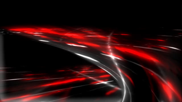 Loop able File. Freeway. Color -red. Road junction. video