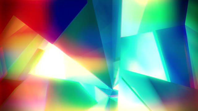 Loop Abstract colorful background video