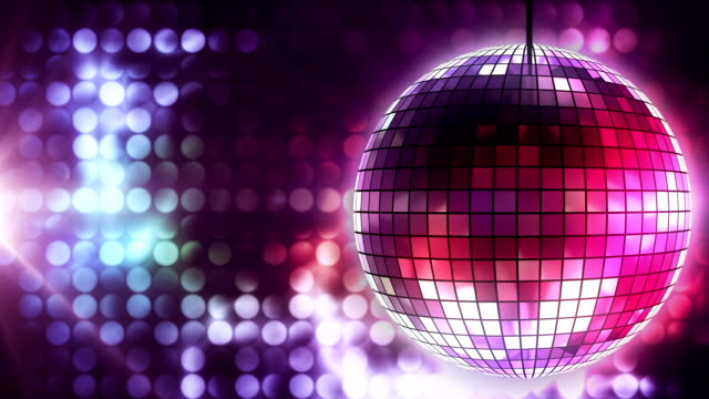 Loop: disco ball video