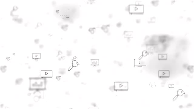 vídeos de stock e filmes b-roll de loop moved seo icons background - upgrade