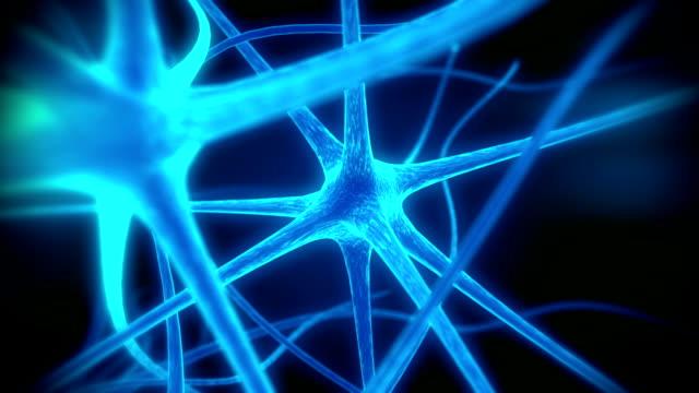 Loop neuron medical animation video