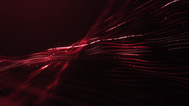loop av röda glödande strängar - red silk bildbanksvideor och videomaterial från bakom kulisserna