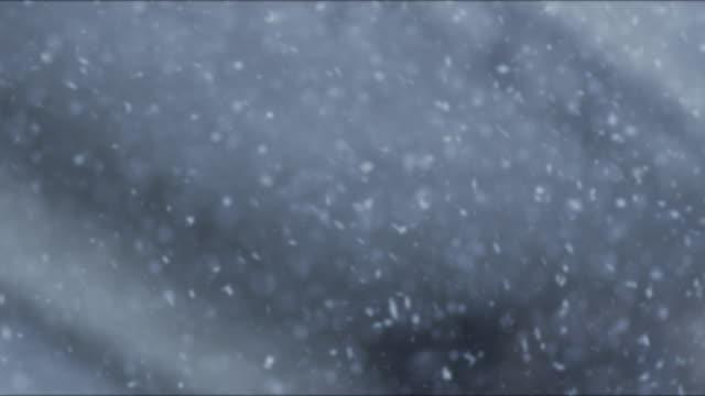 Loop of snowflakes video