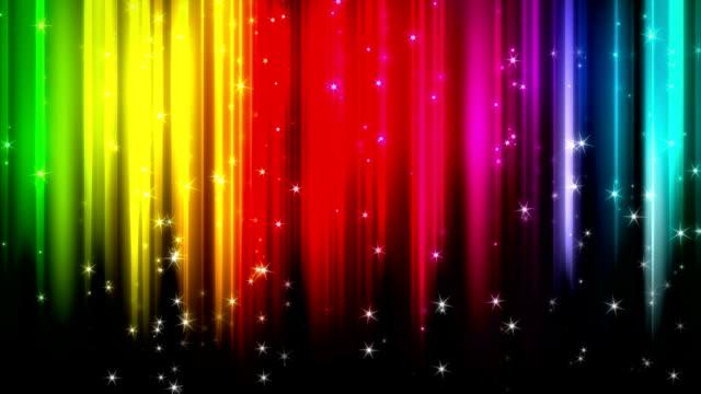Loop rainbow background video