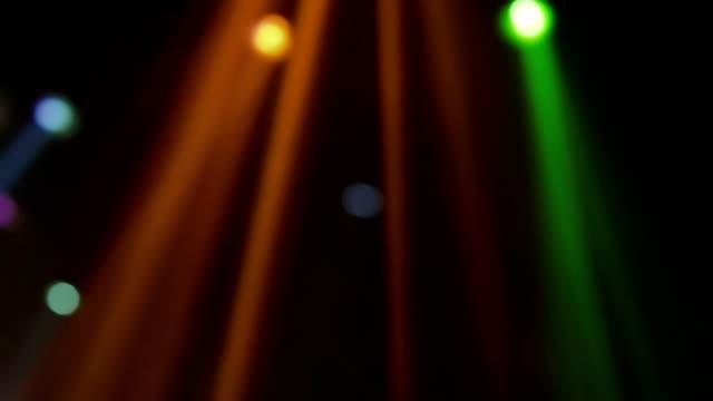 Loop ray light disco Loop ray light disco stage light stock videos & royalty-free footage