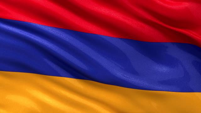 Loop ready flag of Armenia video