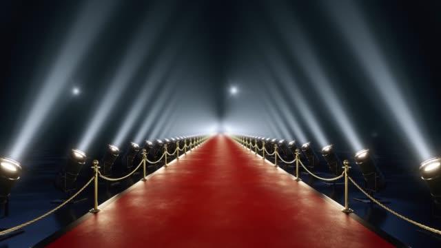 stockvideo's en b-roll-footage met lus van red carpet animatie - prijs onderscheiding