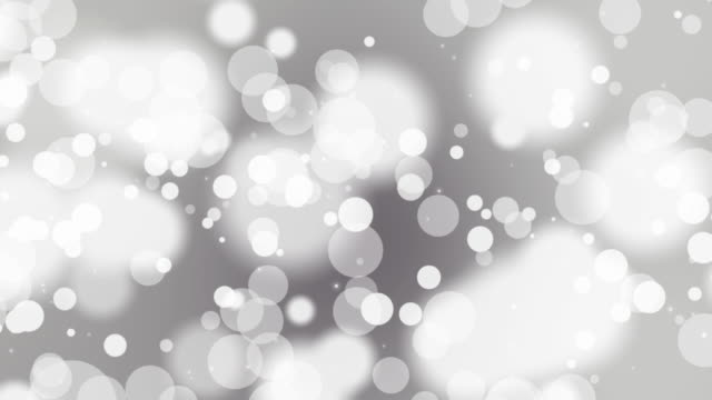 Loopable abstract soft particle background video