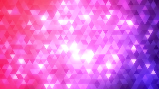 Loopable abstract triangles background violet video