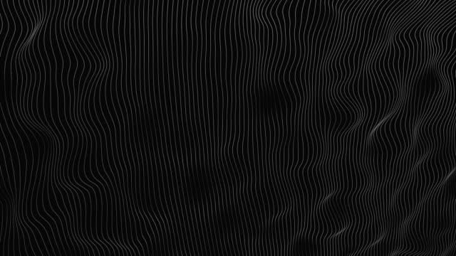 4K - Loopable - Abstract Wavy Lines Background