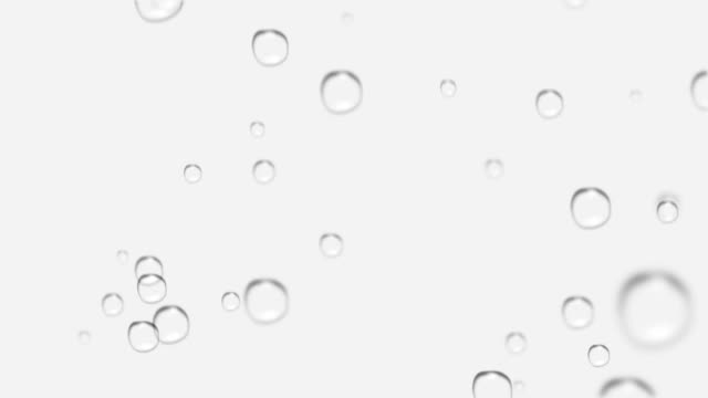 Loopable bubbles background video