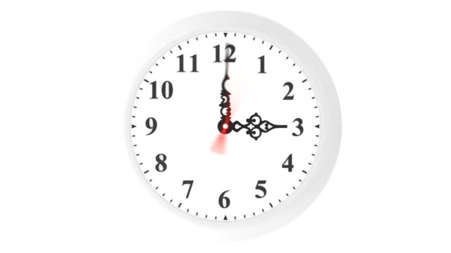 LOOPable clock animation video
