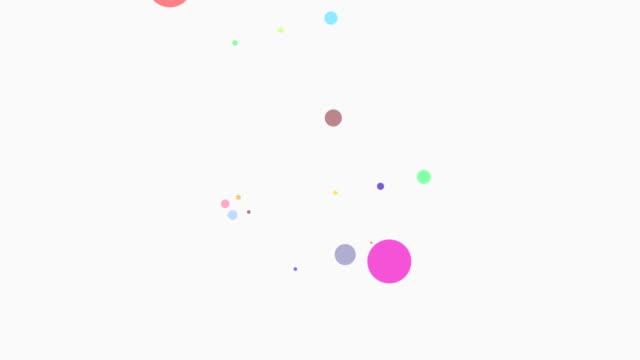 vídeos y material grabado en eventos de stock de partículas de colores loopable - fabricación asistida por ordenador