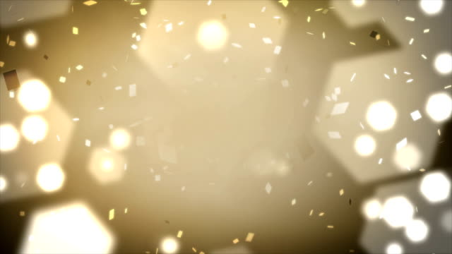 Loopable Confetti and Lights Background video