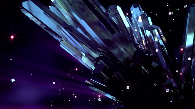 HD: Loopable crystal background video