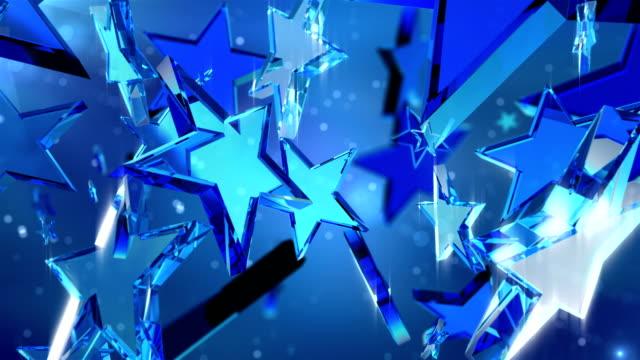 HD: Loopable crystal stars video