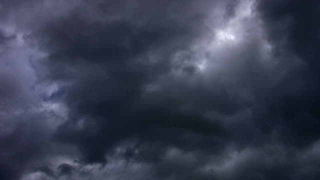 Loopable dark clouds video