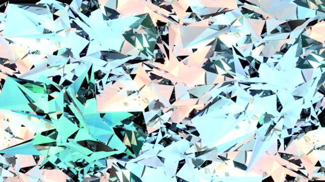 Loopable diamond surface FullHD video video