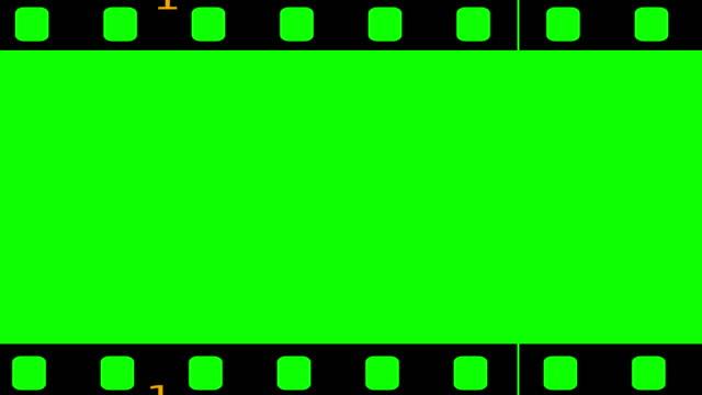 loopable film roll chroma key - фотоплёнка стоковые видео и кадры b-roll